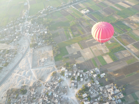 From A Balloon